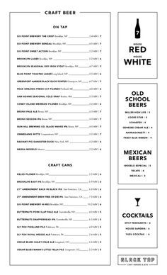 A division of UnderConsideration, cataloguing the underrated creativity of menus from around the world. Restaurant Identity, Restaurant Menu Design, Drink Menu Design, Craft Burger, Menu Layout, Web Design, Graphic Design, Menu Boards, Bar Menu
