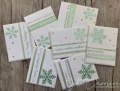 The Scrap Zone: Julep Snowflakes - Christmas card set Snowflake Images, Snowflake Cards, Snowflakes, Merry Happy, Heart Cards, Close To My Heart, Christmas Cards, Christmas 2019, Christmas Ideas