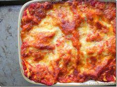 An amazing and lighter Eggplant Lasagne. #vegetarian #Italianfood via @cakeduchess