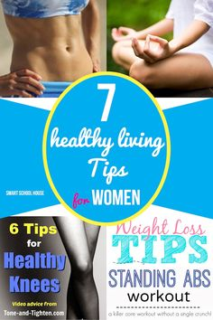 7 Healthy Living Tips for Women