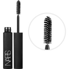 NARS Larger Than Life Volumizing Mascara (33 CAD) ❤ liked on Polyvore featuring beauty products, makeup, eye makeup, mascara and nars cosmetics