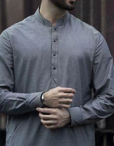 Stylish Junaid Jamshed Men's Kurta For Yr 2019 Styles for Semi formal Wear Kurta Pajama Men, Kurta Men, Mens Kurta Designs, Designer Suits For Men, Designer Clothes For Men, Man Dress Design, Mens Shalwar Kameez, Boys Kurta Design, Stylish Men