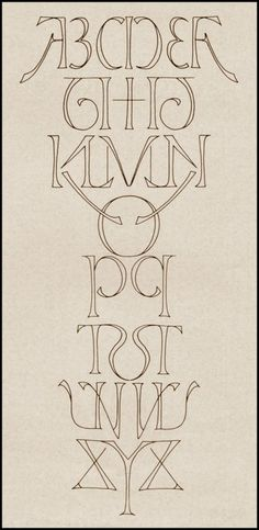 Symmetrical alphabet is symmetrical. Also awesome.