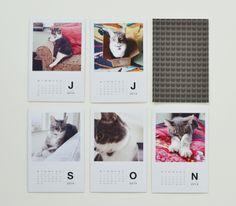 kitty calendar @Melanie Juhos