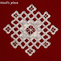 Nouli's place: hardanger embroidery