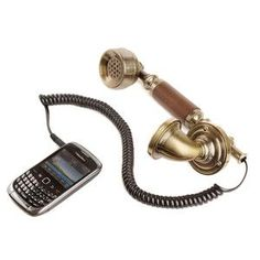 Victorian retro phone headset USB for cell phones
