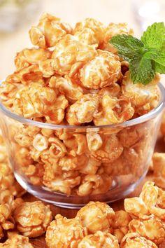 Microwave Caramel Popcorn Recipe
