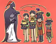 Damian trying to catch his present is adorable!