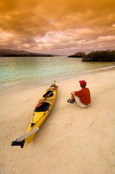 Before the paddle - Galapagos Islands Ecuador kayaking #kayak #kayaking #kayaker