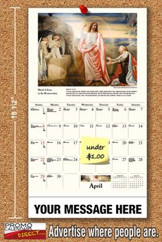2021 Catholic Art Wall Calendars low as Fundraise for your Church or School. Promote your Business in the homes and offices of people in your area every day! Calendar App, School Calendar, Promote Your Business, Trade Show, Wasting Time, Fundraising, In The Heights, Catholic, The Neighbourhood