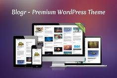 Blogr - Premium WordPress Theme ~~ Fullscreen, responsive theme. Perfect for online blog and gallery. Packed with shortcodes, widgets and options. Take your website to another level!    Responsive design - Theme is optimised to work and look great on big screens and small handheld devices.    W…