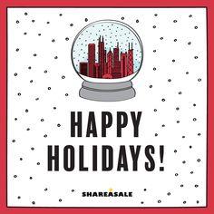 Happy Holidays! #ShareASale #design Happy Holidays, Fun, Design, Happy Holi, Design Comics, Funny, Hilarious