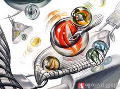 추상 단어와 난도가 높은 소재가 나오는 건대 글로컬은 단순히 패턴에 대입하는 방식만으로 합격하기 힘든 ... Design Art, Rooster, Animals, Draw, Education, Texture, Backgrounds, Glass Art, Pictures