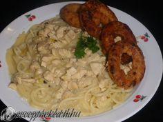 Mustáros csirkemell spagettivel Chicken, Food, Essen, Meals, Yemek, Eten, Cubs