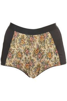 tapestry high waisted knickers
