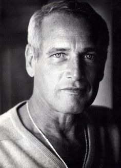 Paul Newman. Good and handsome man.