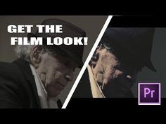 HOW TO GET THE FILM LOOK - Basic TUTORIAL for Beginners (Adobe Premiere) - YouTube