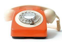 Orange phone beauty