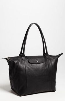 Longchamp Le Pliage Cuir Leather Tote available at Handbags On Sale, Replica Handbags, Longchamp Backpack, Usa Shoes, Longchamp Black, Nordstrom Anniversary Sale, Africa Fashion, Fashion Handbags, Handbag Accessories