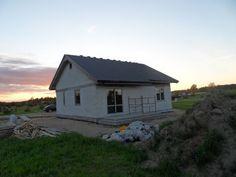Widok domu od strony tarasu  #taras #dom #ogród