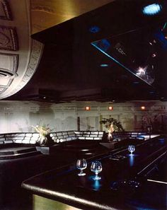 design-is-fine:  Interior of the Studio 54, 1977-81. New York. Interior Design: Ron Doud, lighting design: Brian Thomson. More to see: The Nightclub Years©ian schrager company Schrager was the co-owner and co-founder of the Studio 54, together with Steve Rubell. It was originally an Opera House, designed by architect Eugene De Rosa in 1927. They used the space's original theatrical structure to constantly change the look and feel of the club.