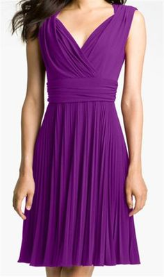 I think this would be perfect to wear at any party or as a bridesmaid dress.