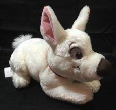 Disney Store 2nd Wave Bolt The Dog Plush Lying Down Toy  #Disney