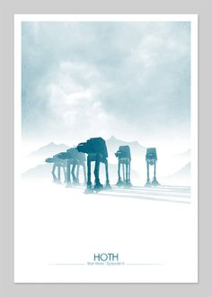 Nice minimalist poster for ESB
