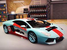 Special #forzahorizon2 Lamborghini Merciulago happy holidays #xboxone custom paintjob