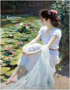 """Waterlilies"" by Vladimir Volegov"