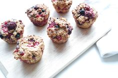 beeren quark muffins