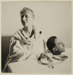 Man Ray – Mary Reynolds and Marcel Duchamp, 1937,  Gelatin silver print