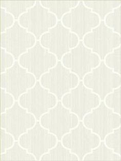 Trellis Sheerest White #Wallpaper