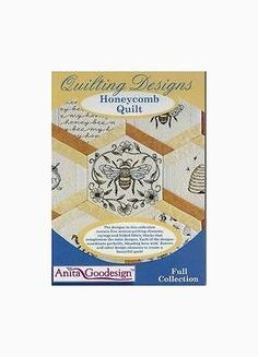Embroidery Machines 71196: Anita Goodesign Embroidery Designs Honeycomb Quilts -> BUY IT NOW ONLY: $80.24 on eBay!