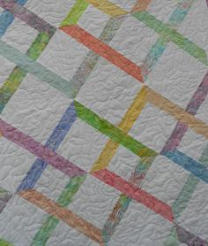 Jelly Roll Quilt Pattern Linked In PDF by LittleLouiseQuilts