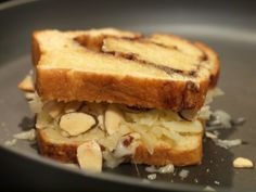 Gruyere Surchoix and Toasted Almond Grilled Cheese