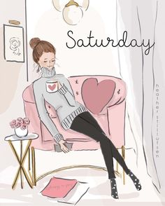 I finally got some decent sleep! Starting to feel better. ❤️ from - Saturday 💕 Rose Hill Designs, Saturday Quotes, Chica Cool, Days And Months, Hello Weekend, Hello Saturday, Sunday, Sassy Pants, Grand Tour