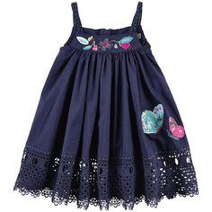 Catimini - Cotton Poplin Poplin Dress