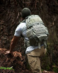 FAST Pack EDC by TAD (Triple Aught Design) - a high-capacity day pack that combines the advanced ergonomics found in mountaineering packs with the rugged construction and practical modularity of tactical gear.