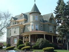 McGowan House, University of Scranton, PA University Of Scranton, Victoria House, Architect House, Road Trip Usa, Old Buildings, Woman Painting, Architecture Details, Old Houses, Castles