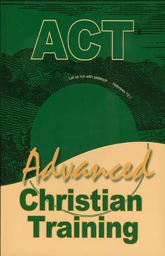 """Pages: 136 Size: 8.25"""" x 11"""" ISBN #: 978-1-884838-42-2 Format: Softcover Download the eBook instantly! Dig deeper and learn more with the help of Advanced Christian Training. Chapters include: Underst"""