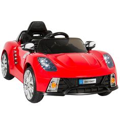 The R/C MP3 kids' radio-control car is great fun for any toddler to drive and is equally entertaining for the adult who wants to participate with the wireless remote. Our ride on car comes with (2) 12V motors and features two speeds: High and Low so you can make sure your child drive in style. | eBay!