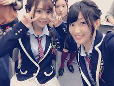 Kanae Iso x Anna Ijiri x Emika Kamieda  https://twitter.com/Emika_Kamieda/status/801726887034654721