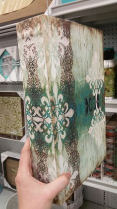 Large faux book for up above cabinets or on coffee table At Home Pflugerville