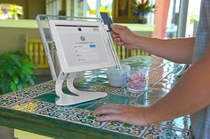 Leading Retail Security for Phones, Tablets, Global Service Square Register, Orchid Spa, Retail Security, Horse Camp, Square Card, White Orchids, Clever Design, Card Reader, Cute Crafts