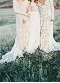 painted hills - Emily Riiggs bridal dresses, photo: Michael Radford