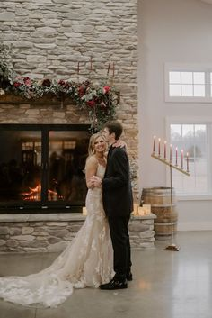 Venue: The Sycamore Winery Photographer: Kayla Bacon Lang Bouquets: Borrowed and Bloomed Cheesecakes: India Pigg Band: Jukebox Luke Winter Wedding Decorations, First Dance, Cheesecakes, Jukebox, The Borrowers, Bouquets, Bacon, Valentines, India