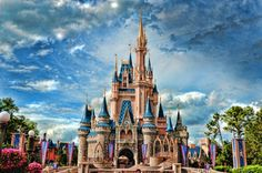 Gorgeous HD Castle. I think this is Disney World.....