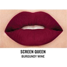 Smashbox Be Legendary Cream Lipstick, Screen Queen Matte 1 ea-See this and similar Smashbox lipstick - Scream Queen Matte - Burgundy Wine. You inspired us to think big in revamping our Be Legendary matte lipstick collectio...