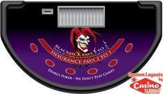 Custom Blackjack Ballard by Casinosupply.com